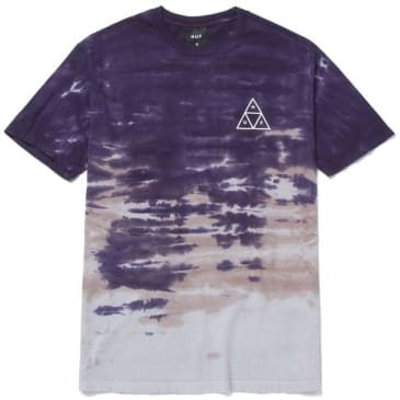 HUF Sky Wash T-Shirt - Purple