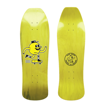 Blast Skates Apple Skateboard Deck - 10""
