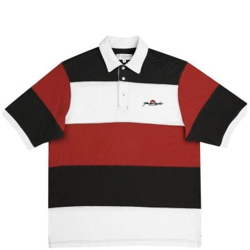 Yardsale Gardena Polo - Red / White / Charcoal