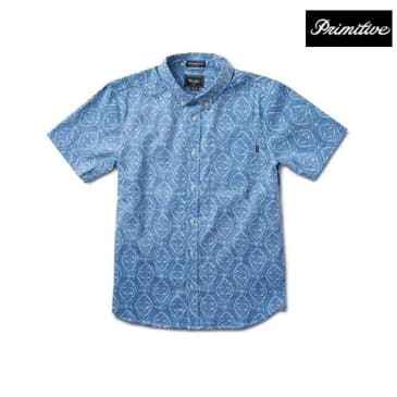 Primitive Pool Party Button Down
