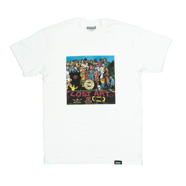 Lost Art - Lost Art -Relax with Pepper Tee White