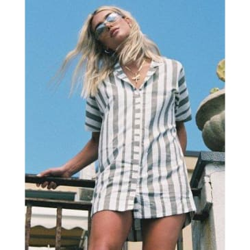 RVCA Women's Storm Oversized Shirt Dress
