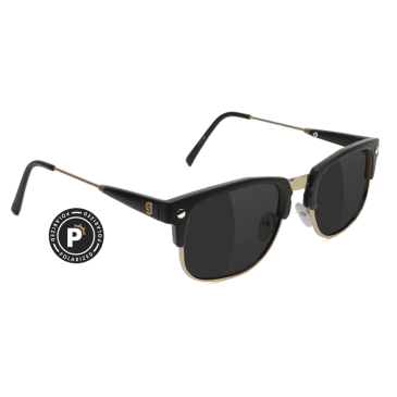 Glassy P-rod Premium Polarized Black/Gold
