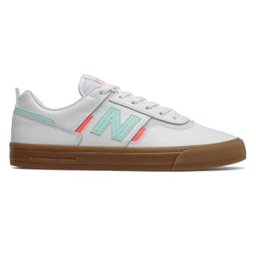 New Balance Numeric 306 Skateboard Shoe - White/Gum