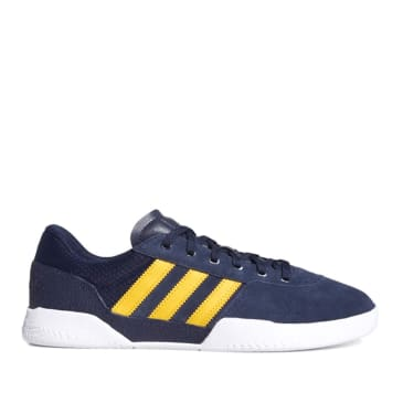 adidas Skateboarding City Cup Skate Shoes - Collegiate Navy / Cloud White