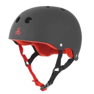 Triple 8 Black/Red Sweatsaver Liner Helmet