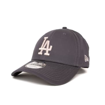 New Era League Essential Los Angeles Dodgers 9FORTY Cap - Charcoal