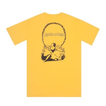 Fucking Awesome Finis T-Shirt - Pale Yellow