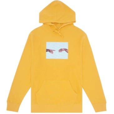 Fucking Awesome NAK Hands Hoodie - Mustard