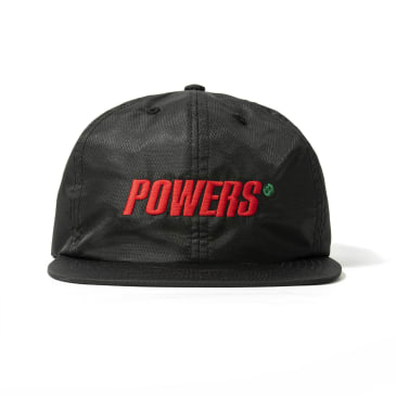 Powers Spellout Diamond Ripstop Cap - Black