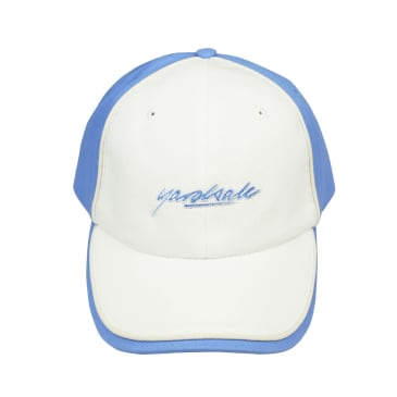 Yardsale Pipeline Cap - White / Baby Blue