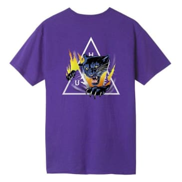 HUF Jungle Cat Triple Triangle S/S T-Shirt Purple