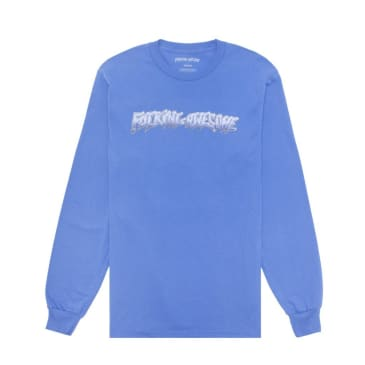 Fucking Awesome Chrome Long Sleeve T-Shirt - Flo Blue