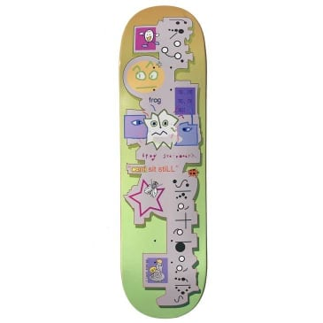 Frog Skateboards Can't Sit Still Skateboard Deck - 8.5""
