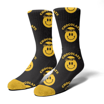 Chocolate Mindblown Socks Black