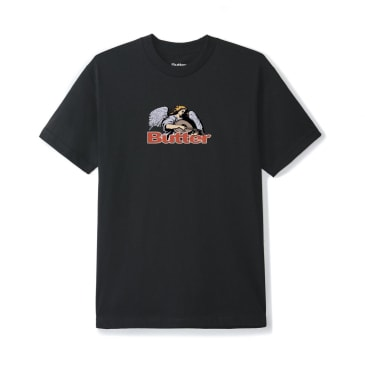 Butter Goods Serenade Logo T-Shirt - Black