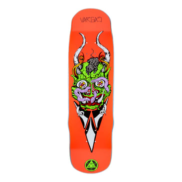 "Welcome Skateboards - 8.8"" Daniel Vargas Maligno On Efigy Deck (Hot Coral)"