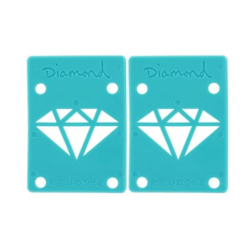 "Diamond 1/8"" Blue Riser Pads"