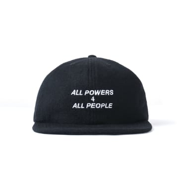 Powers All Powers 4 All People Wool Cap - Black