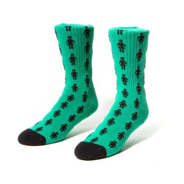 Girl Pepper Socks Teal