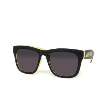 Santa Cruz Dazed Sunglasses - Black/Safety Green