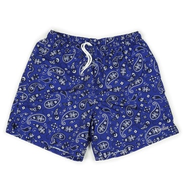 Civilist - Paisley Swim Short - Blue