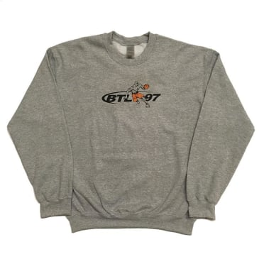 Blue Tile Lounge Crew Neck Sweater Tai Chi Sport - Grey