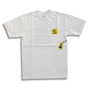 Brixton x Joe Strummer Know Your Rights T-Shirt - White