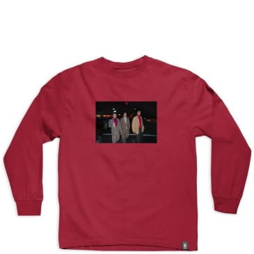 Girl Skateboards x Beastie Boys Spike Jonze Longsleeve T-Shirt - Cardinal