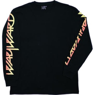 Wayward Skateboards Flamin Wayslee Long Sleeve T-Shirt - Black