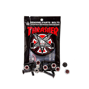 "Independent Thrasher 1"" Phillips bolts (set of 8)"
