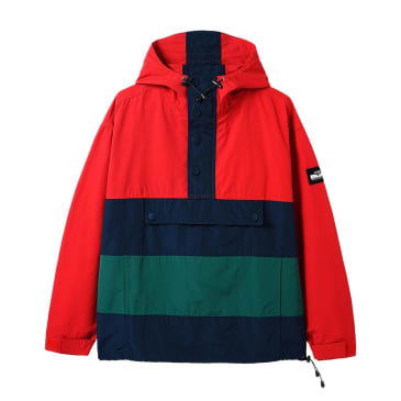 Butter Goods - Santosuosso Jacket - Red/Navy/Green