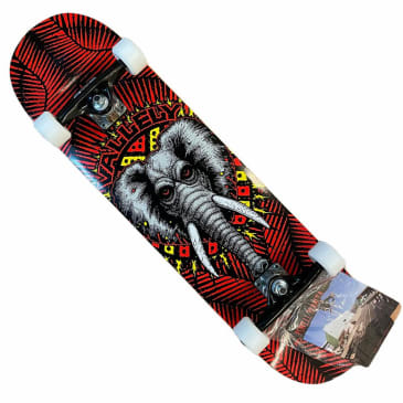 Powell Peralta Vallely Red 8.25x31.9 Complete
