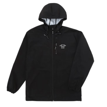 Dark Seas Port Rain Jacket - Black