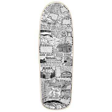"""Heroin Skateboards - Craig Questions Gold Rush Deck 10"""" Wide"""