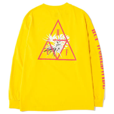 HUF - HUF Jungle TT Long Sleeve T-Shirt | Yellow