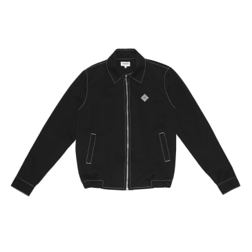 The National Skateboard Co. Harrington Jacket - Black