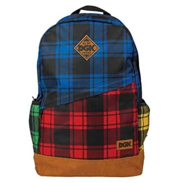 DGK - Mismatch Backpack - Tartan
