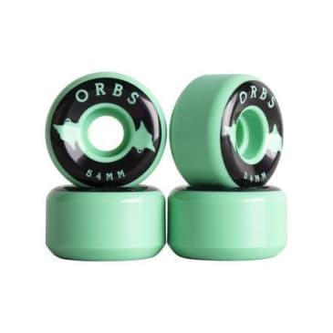 Welcome Skateboards - 54mm Orbs Specter Solids Wheels - Mint