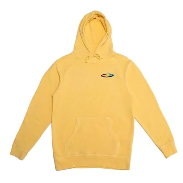 Call Me 917 Racer Pullover Hoodie - Washed Yellow