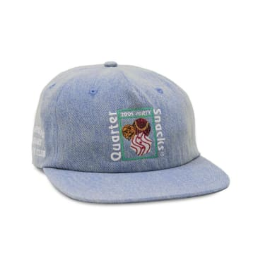 Quartersnacks Party Cap - Light Denim