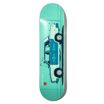 CHOCOLATE PEREZ WORLD TAXIS DECK - 8.0