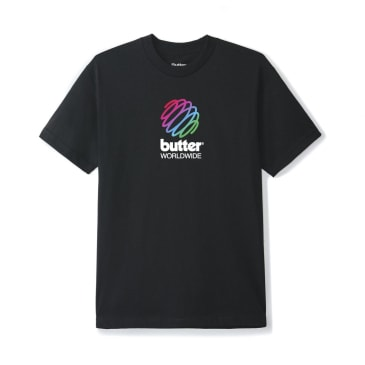 Butter Goods Telecom T-Shirt - Black