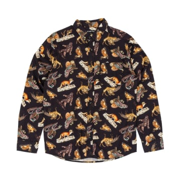 KAVU Valdez Long Sleeve Shirt - Oddities