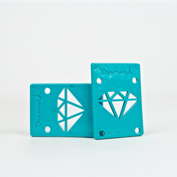"Diamond Supply Co. - 1/8"" Rise & Shine Risers - Mint"