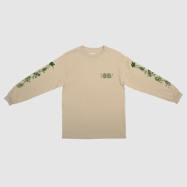 Pass~Port Floral Friends Long Sleeve T-Shirt - Sand