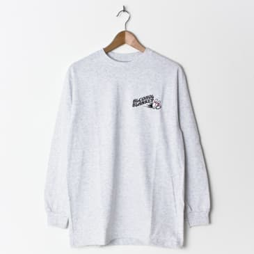 Alcohol Blanket Bowling Embroidered Longsleeve Ash