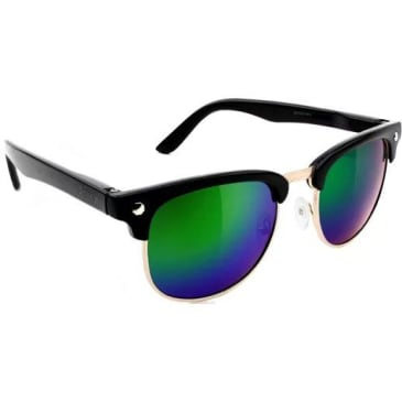 Glassy Morrison Glasses - Polarized Black / Green