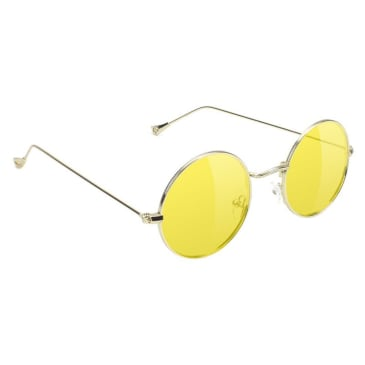 Glassy Mayfair Classic Sunglasses - Gold / Yellow