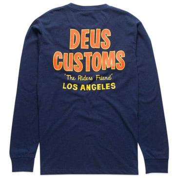 Deus Ex Machina - Deus Ex Machina Walrus LS T-Shirt | Navy